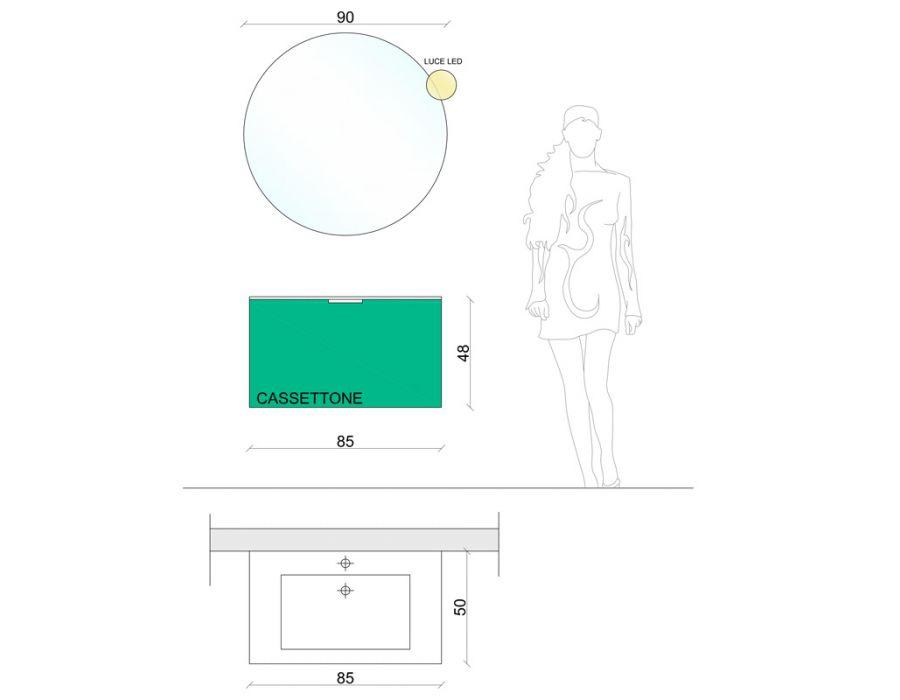 Arredamento completo dedalus concept