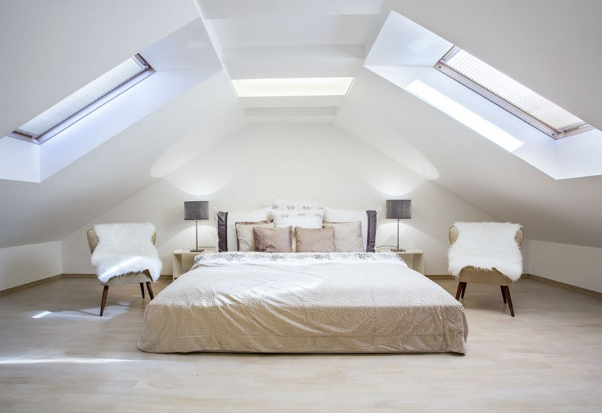 Camera da letto in mansarda: consigli per un risveglio magico.