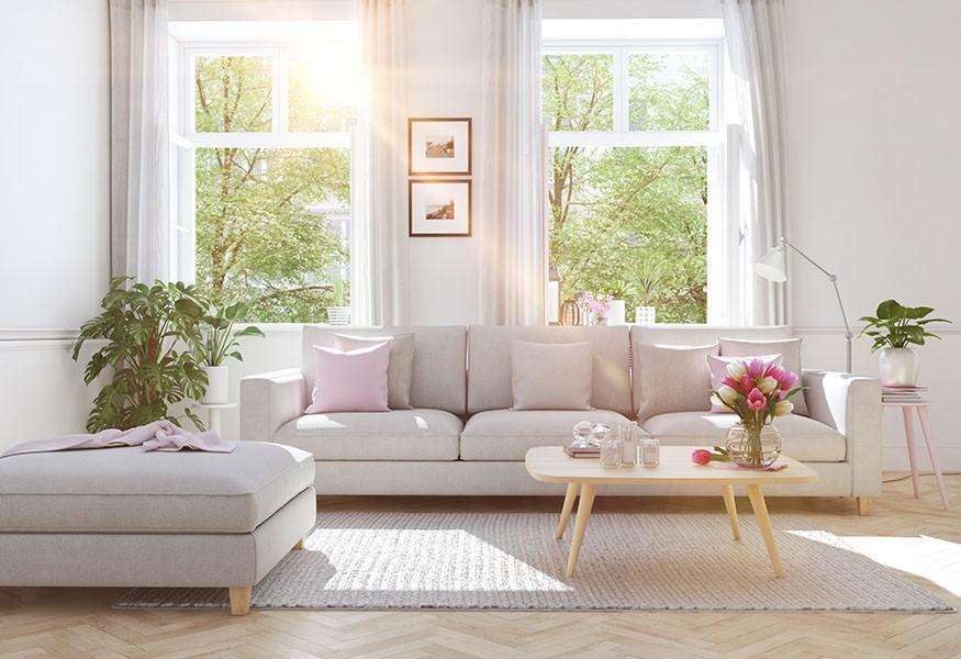 Consigli per la cura dei materiali: pulizia dei divani in stoffa