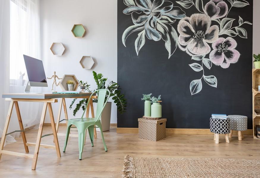 Fare Una Parete Di Lavagna : La parete a lavagna in cucina in cameretta in salotto