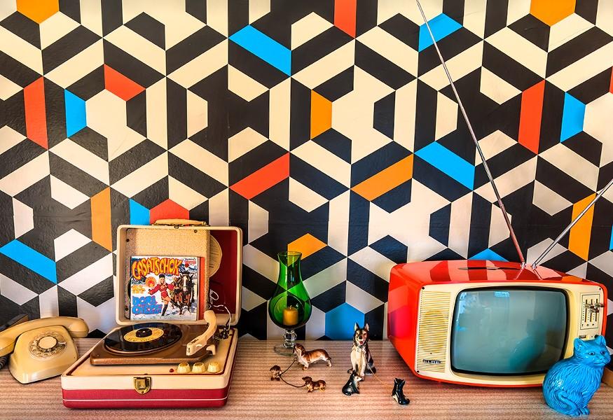 carta da parati: un tocco di creatività in casa.