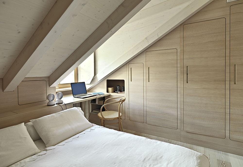 Camera da letto in mansarda consigli per un risveglio magico for Camere da letto basso costo