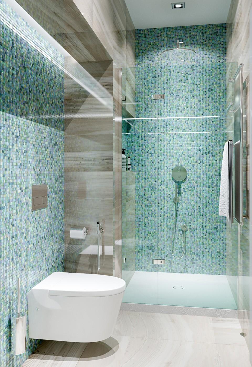 Mosaico Per Bagno Doccia.Bagno Con Mosaico La Tradizione Che Arreda