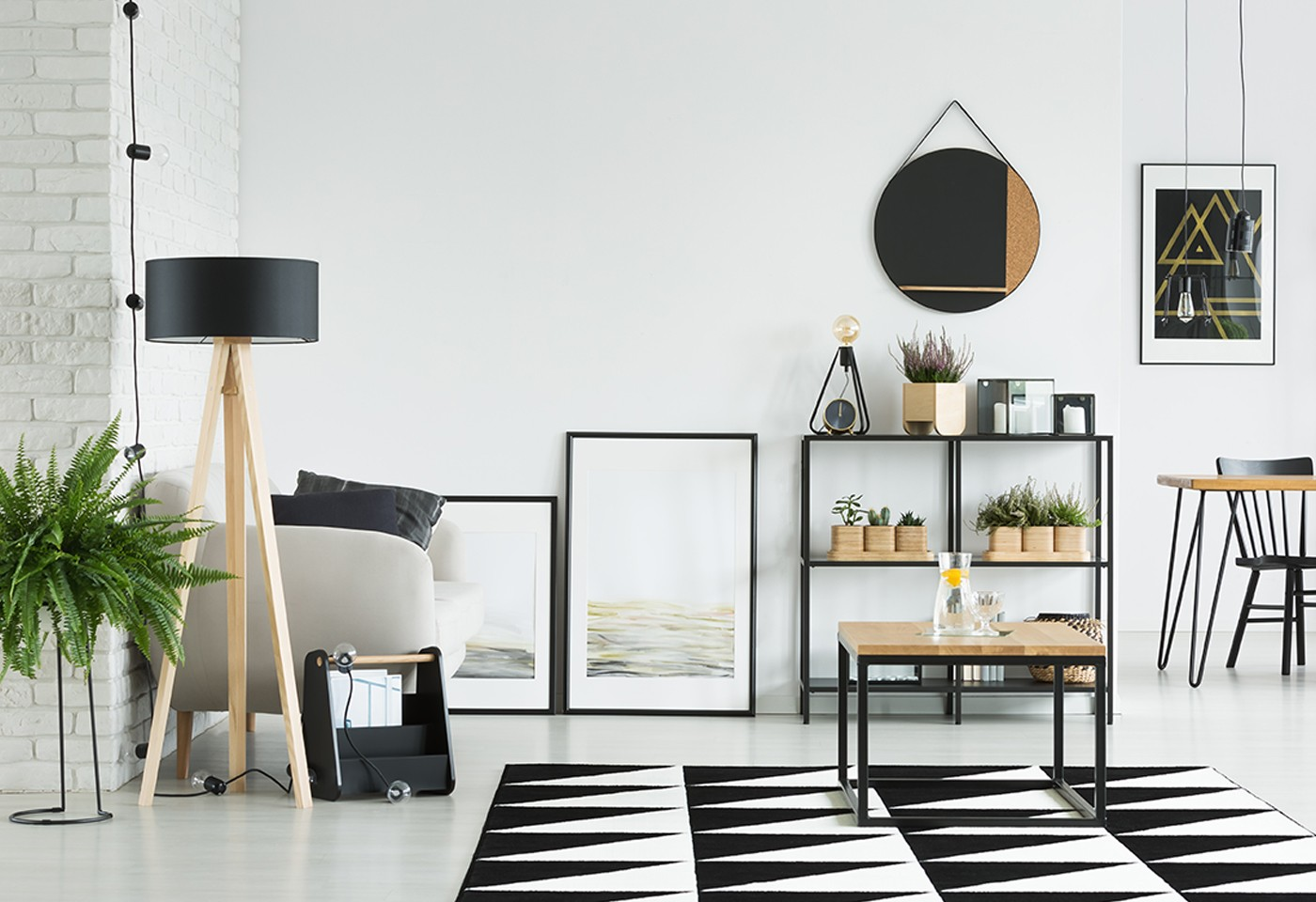 Idee arredamento casa low cost stile industriale e stile for Arredamento scandinavo on line
