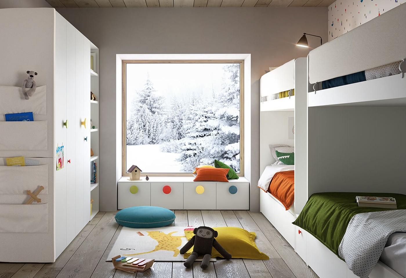 Camerette Per Bimbi Piccoli camerette per bambini: il design entra nel mondo dei più piccoli