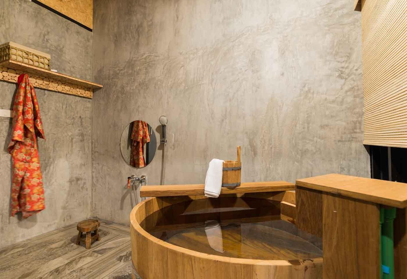 Vasca Da Bagno Stile Giapponese : Arredamento giapponese il design del sol levante curiosita
