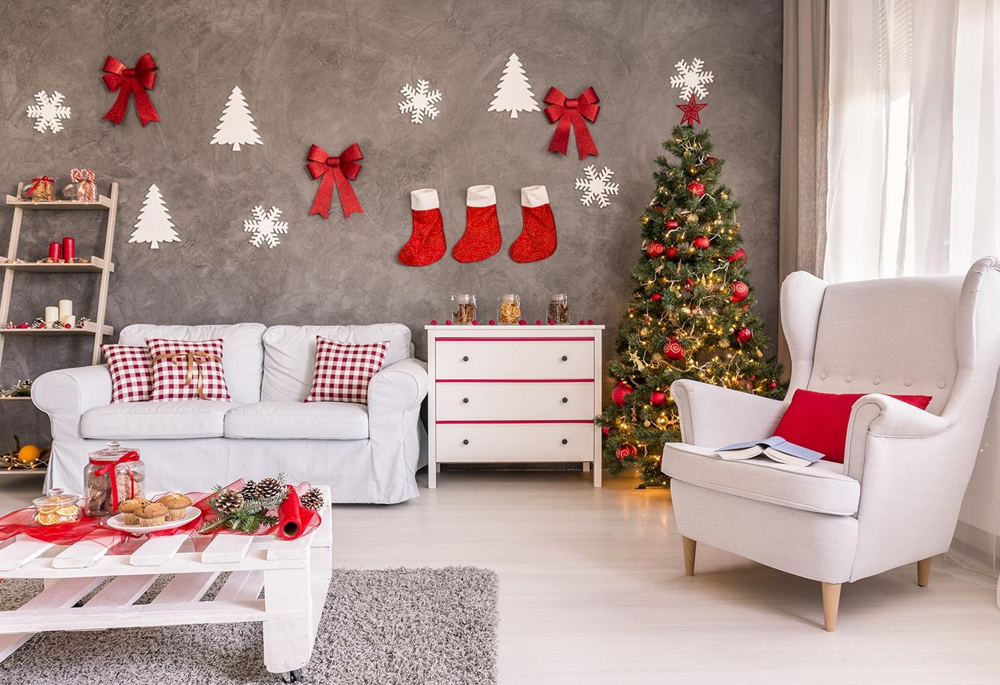 Divano Rosso Arredamento.Il Natale In Casa Arredi E Divano Rosso Per Vivere La Magia