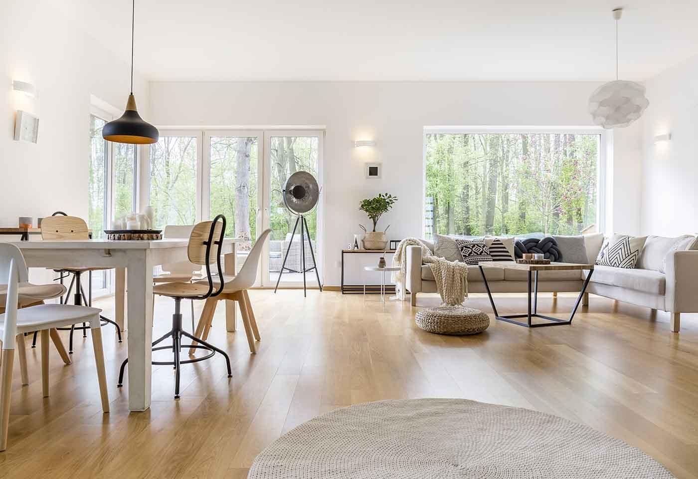 Arredamento in stile nordico moderno idee e consigli Soggiorno stile moderno