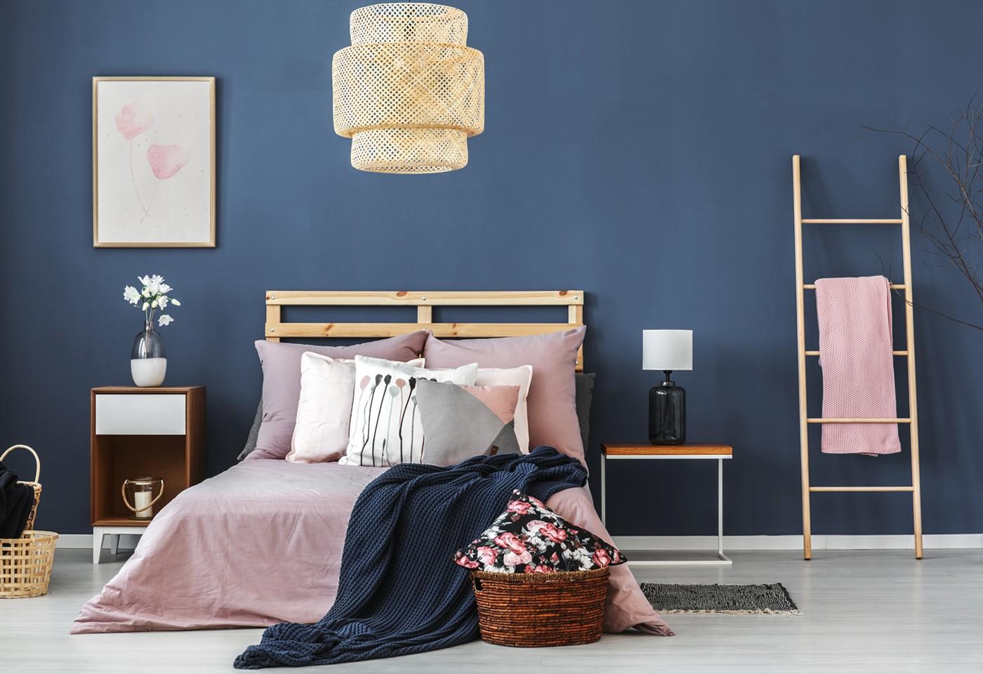 Pareti colorate in camera da letto, soggiorno e cucina: abbinamenti ...