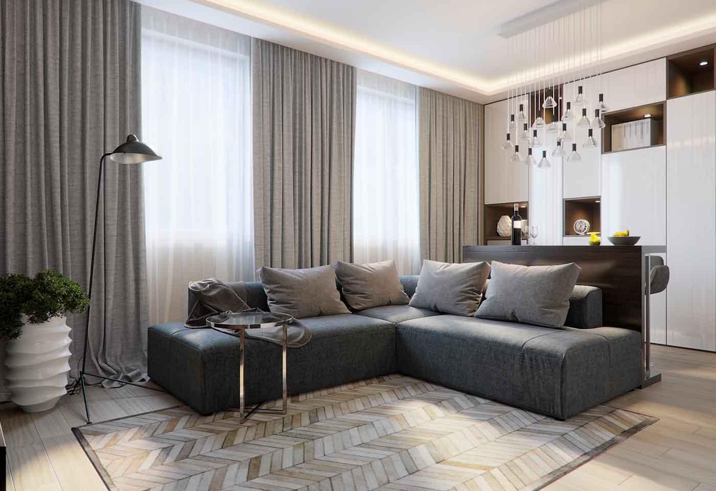 Tende Sala E Cucina tende da salotto: idee e consigli per sceglierle