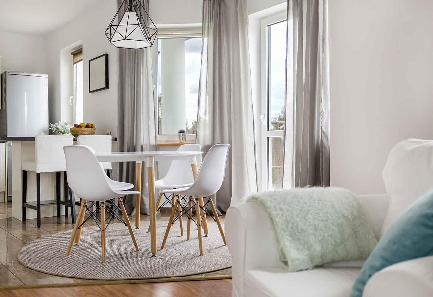 Divano E Tavolo Insieme rinnovare la zona pranzo: meglio tavolo rotondo o tavolo