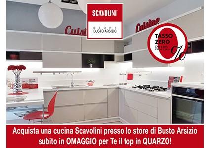 Scavolini Top in Quarzo in Omaggio