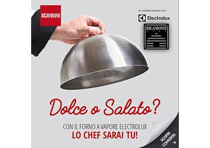 Con Scavolini il Forno a Vapore è GRATIS!