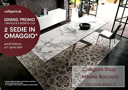 Dining Promo By Calligaris