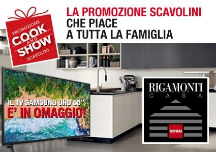 Promozione Scavolini Cook and Show