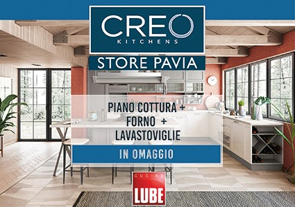 Promozione Lube Creo Store Pavia
